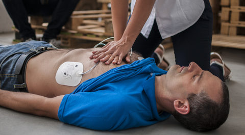 CPR and Automated External Defibrillator (AED) Training Course - Angel Training, Kent