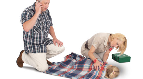 Combined First aid at work and Paediatric first aid Training Course - Angel Training, Kent